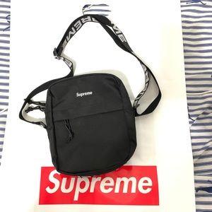 Supreme shoulder bag ss18 black